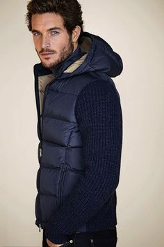 Nice simple style for men in winter