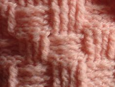 Really good instructions.  The Lazy Hobbyhopper: Crochet: Basket weave pattern