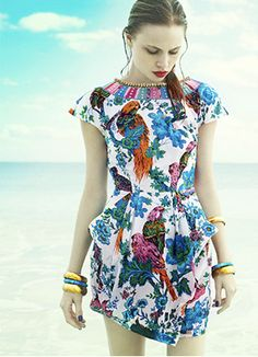 there are birds on that dress . . .