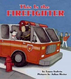 "Letter F = Firefighter. In short, rhyming sentences this book tells the story of firefighters responding to a fire in a building from the time the alarm rings and the firefighters leave the station until they declare ""all clear"" and return."