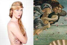 Coll. Nude - Headband Lactée copy. Mulot-Bricole - Shoot. Lætitia Kitegi  Model Pauline Marcastel