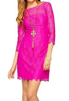 Lilly Pulitzer Hera Lace Sheath Dress