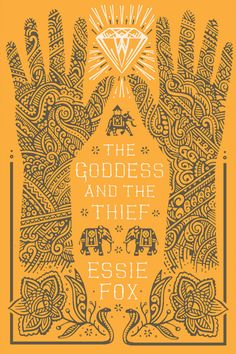 THE GODDESS AND THE THIEF - book cover design by David Wardle