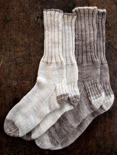 Whit's Knits: Homespun BootSocks - Knitting Crochet Sewing Crafts Patterns and Ideas! - the purl bee