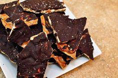 Salted Caramel Pretzel Bark {Christmas Tray 2012}
