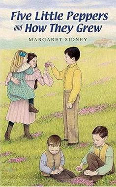 Five Little Peppers and How They Grew by Margaret Sidney.  Free audiobook download or streaming from BooksShouldBeFree.