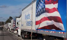 """This year, to help some of those truckers make a connection to the Arlington event and expand the reach of National Wreaths Across America Day, WAA partnered with the Truckload Carriers Association (TCA) and Pilot Flying J—a TCA member company—for a """"rolling tribute."""""""