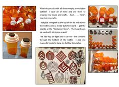 What do you do with all those empty prescription bottles at home.?.?.?