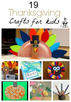 19 Quick and Easy Thanksgiving Crafts For Kids
