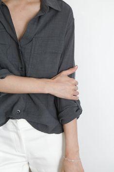 Minimal + Chic | @codeplusform grey shirt