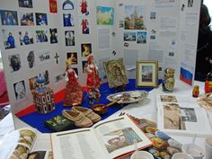 one Girl Scout troops World Thinking Day project photos - Russia