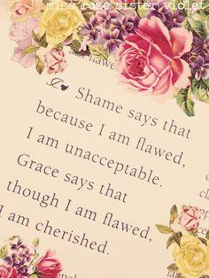 God's grace is sufficient...