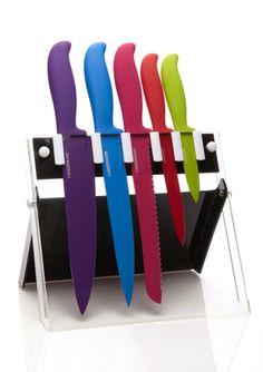 Farberware's Classic Color Series 6-Piece Cutlery Set
