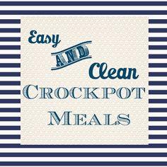 Hello Stripes: Clean Crockpot Meals