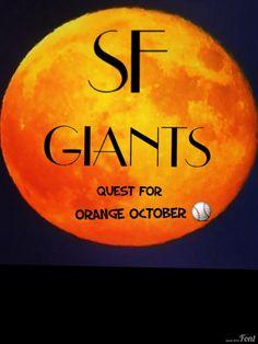 Orange October for the San Francisco Giants