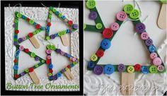 Button ornaments...