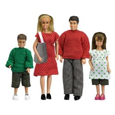 Lundby Classic Doll Family - Smart Kids Toys