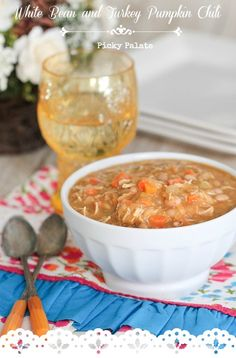 White Bean Chicken Pumpkin Chili