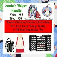 Get ready for Christmas in September!!!  Great bundle that makes many different Christmas gifts. So many great items in the new Fall 2014 catalog.