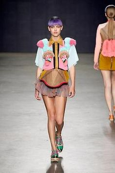 Yvonne Kwok S/S 2013, Amsterdam Fashion Week
