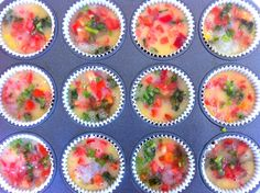 Quick, High Protein Breakfast idea: Clean egg muffins! | Blogilates