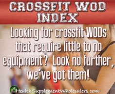 crossfit workout index