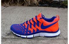 """Nike Free Trainer 5.0 NRG """"Total Crimson/Hyper Blue-White"""" total crimson, color, free trainer, sneaker, hyper blue, nike shoes, 50 nrg, nike free, trainer 50"""