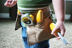 Tool Belt for Little Boy