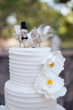 cute bird cake topper