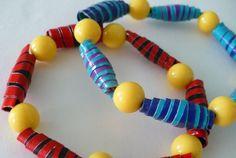 Duct tape beads DIY