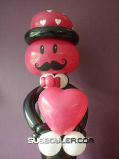 #Love #hearts #Mustache #Smile Face Mustache # Sue Bowler