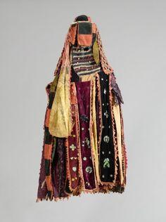 Costume, 1900's. Guinea Coast, Nigeria, Yoruba, 20th century.