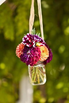 Purple & Orange California Wedding Wedding Real Weddings Photos on WeddingWire