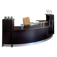 Curved Reception Counter Desk - Furnways Furniture Pty Ltd