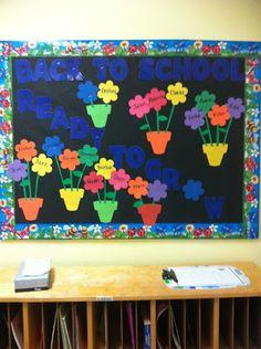 Cute bulletin board idea!