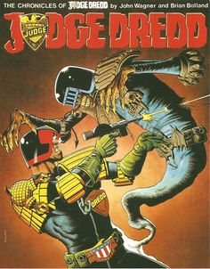 Early Dredd collection from Titan.