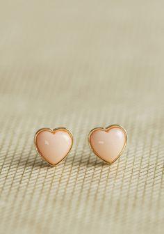 Sweet Side Heart Earrings