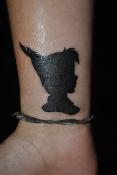 LOVE THIS ONE. Peter Pan Tattoo