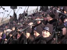 """""""On Top Of The World"""" PS22 Chorus at 2013 Presidential Inauguration (by Imagine Dragons) Adorable, and they didn't lip sync!"""
