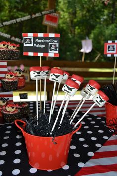 """Photo 21 of 76: Pirates / Birthday """"Carter & Clayton's Pirate Birthday Party""""   Catch My Party"""