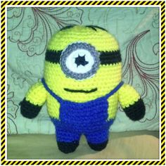 Despicable Me crochet minion :)