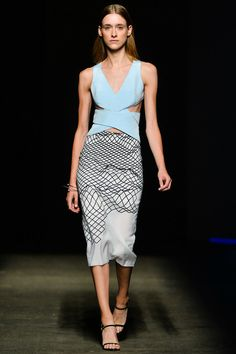 #DionLee #Spring/2014 #Catwalk #trends #MBFWNY #NewYork #SS/2014 #cropped on Style.com