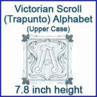 Trapunto Alphabet in 5 different sizes
