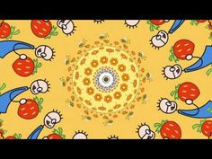 this 5 minute movie has a lot of examples of radial symmetry