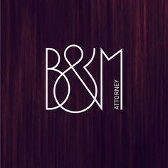 b&m logotype.