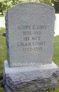 Holyoke, Mass - Tombstone Tuesday: Root Tombstone, Side II #genealogy #familyhistory