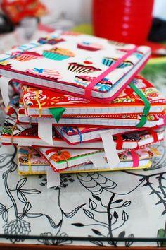 Libreta Tela A5 (8 € + gastos de envío) Telas a elegir entre las disponibles en stock pedidos / info: mailto:retalesdec...