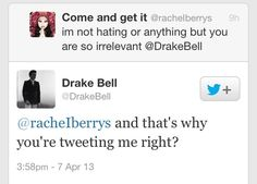 The 15 Best Drake Bell Comebacks
