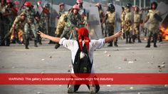 via BBC: Turmoil in Egypt The revolution which toppled President Hosni Mubarak in February 2011 ushered in a new era for Egypt, but change has been far from peaceful.  To view, click image or here: http://www.bbc.co.uk/news/in-pictures-24401829