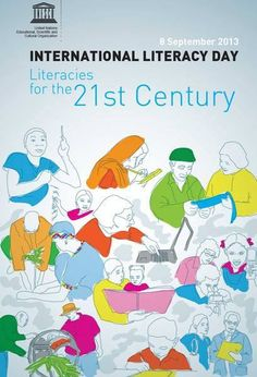 .Literacy is at the heart of basic education for all, and essential for eradicating poverty, reducing child mortality, curbing population growth, achieving gender equality and ensuring sustainable development, peace and democracy.    That's why Sunday is International Literacy Day!